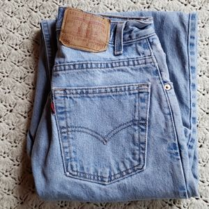 Vintage Levi's 560 Tapered Leg High Waisted Jeans